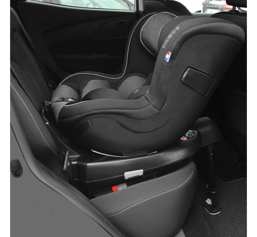 WONDER - i-Size Autositz - von 0 bis 4 Jahren - Schwarz