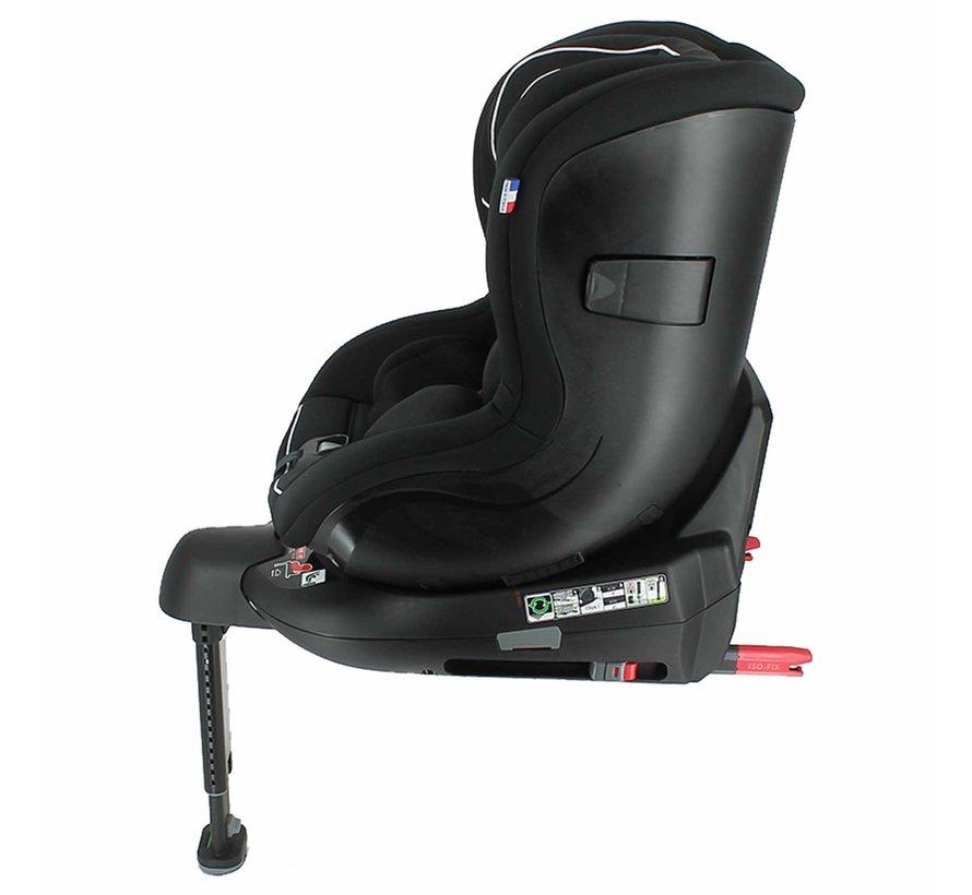 WONDER - i-Size autostoel - van 0 tot 4 jaar - Zwart