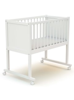 AT4 Wieg comfort - 40 x 80 cm - babybed - Wit