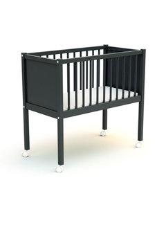 AT4 Wieg comfort - 40 x 80 cm - babybed - Zwart