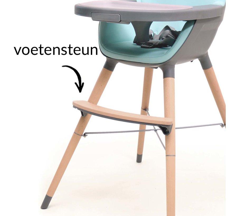 ESSENTIAL Hochstuhl - Baby- und Kinderstuhl - Grau, Blau