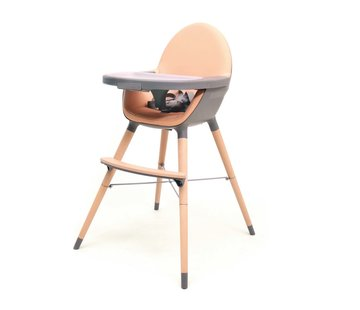 AT4 ESSENTIAL Multi-purpose chair - Baby and children's chair - Grey & Peach