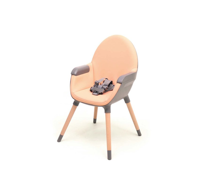 ESSENTIAL Multi-purpose chair - Baby and children's chair - Grey & Peach