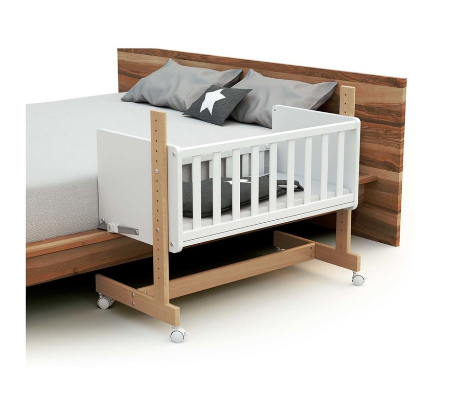 Multifunktionaler CoSleeper - Babywiege - Ausziehbares Bett - Umwandelbar