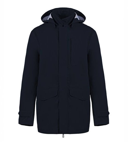 Save the Duck Cappotto Tech 4 Navy Blue Men