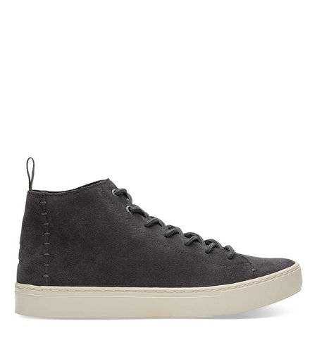 Toms Sneaker Suede Lenox Mid Forged Iron Grey