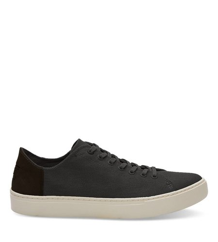 Toms Lenox Sneaker Washed Canvas Black