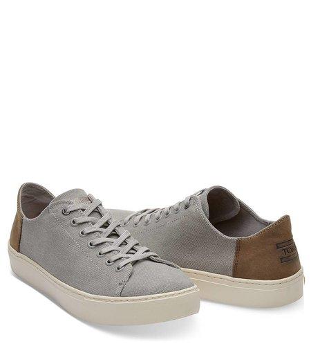 Toms Lenox Sneaker Canvas Drizzle Grey Wash