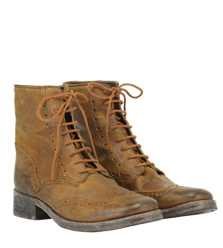 Goosecraft Joe Broque Boot Cognac