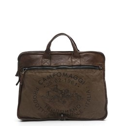 Campomaggi Professional bag with Teodorano print in