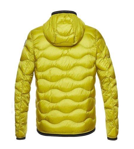 Blauer Jaxson Hooded Wave Down Jacket Lemongrass