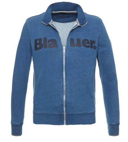 Blauer Open Sweatshirt Blue Thames
