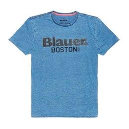Blauer Jersey T-shirt Boston 1936