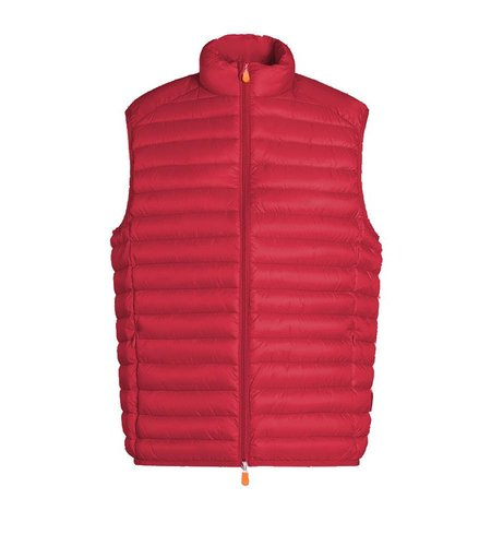 Save the Duck Giga 6 Gilet Tomato Red