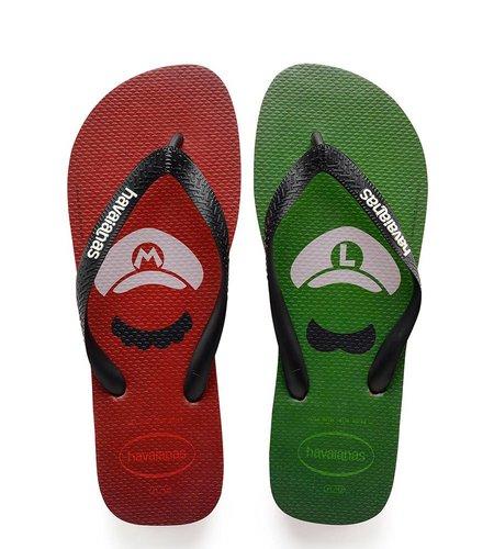 Havaianas Mario Bros Ruby Red