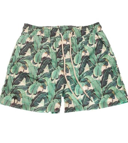 OAS Banana Leaf Swim Short