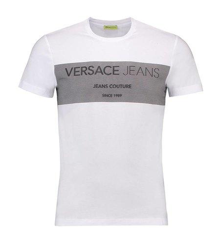Versace Jeans Extra Slim T-Shirt Print White