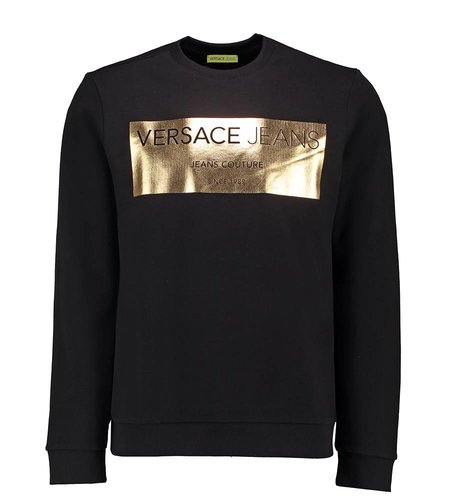 Versace Jeans Light Slim Sweater Black