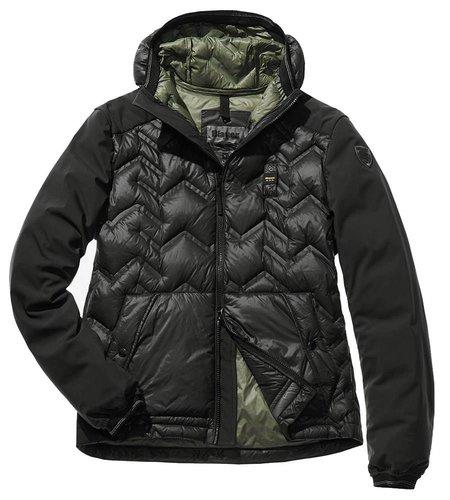 Blauer Alessio Zig Zag Heat-Sealed Down Jacket