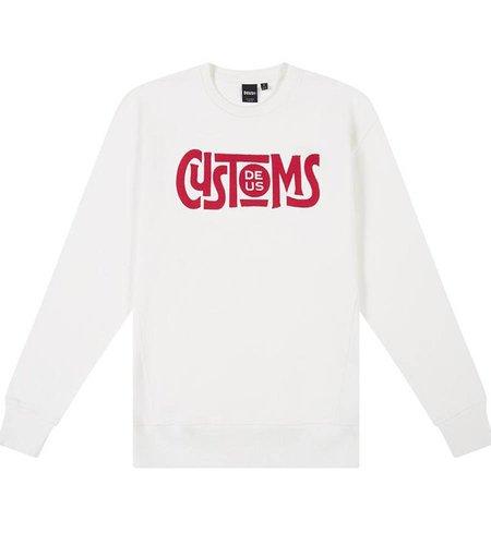 Deus Greaser Crew Vintage White