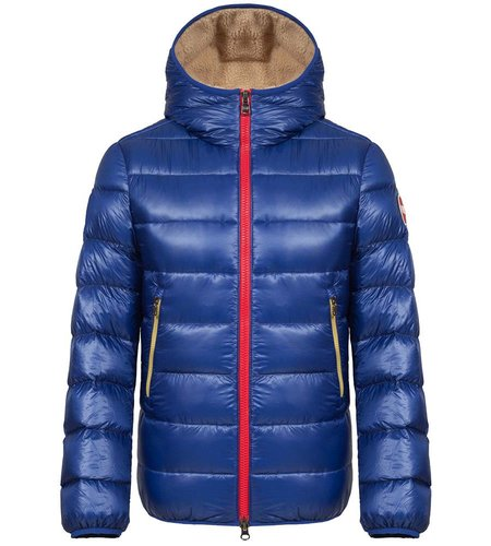 Colmar Down Jacket With Teddy-Effect Inner Lining