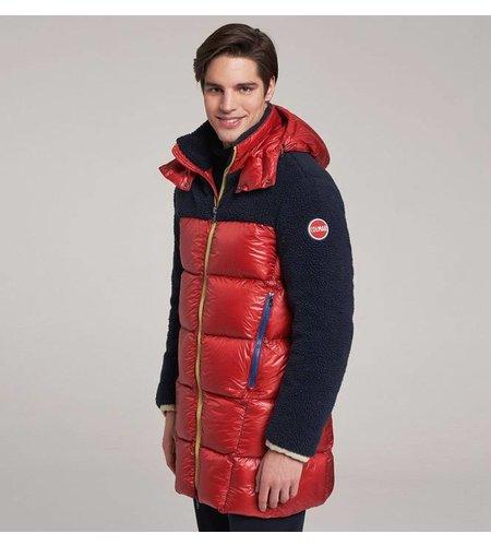 Colmar Long Teddy-Effect Down Jacket