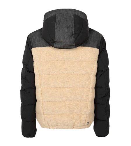 Colmar Denim Down Jacket With Internal Teddy Fur