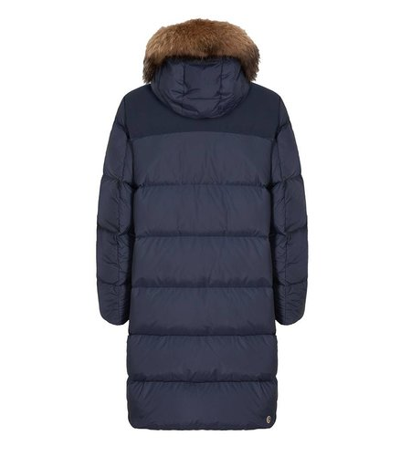 Colmar Long Down Jacket Detachable Fur