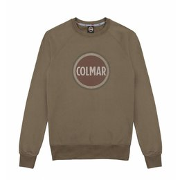Colmar Round-Neck Sweatshirt With Rubber Print