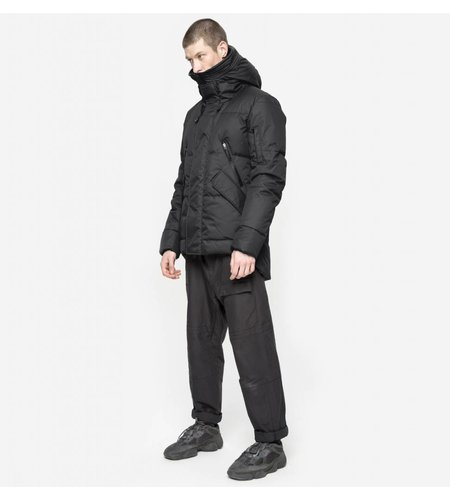 Krakatau Short Down Jacket Black