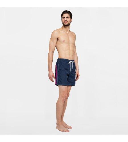 """Sundek Swimshort Elastic Waist 16"""" Navy"""