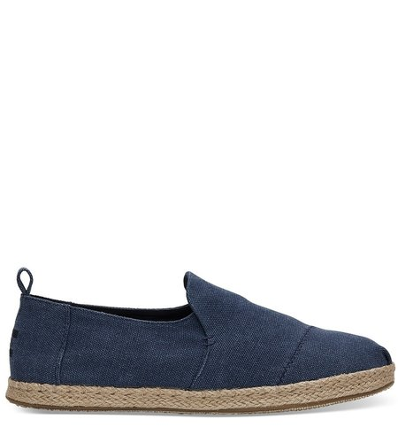 Toms Deconstructed Alpargata Rope Navy