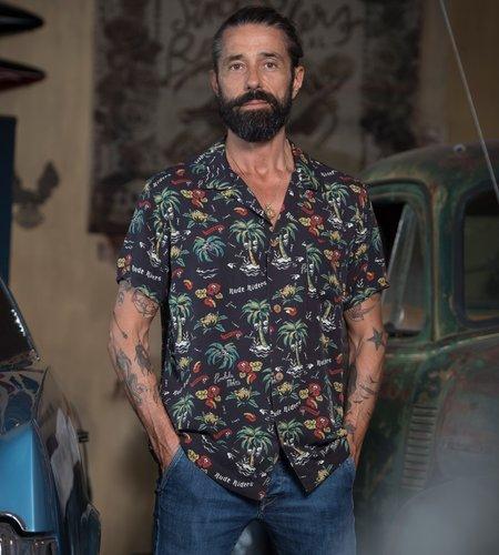 Rude Riders Honolulu Motors Shirt Unica
