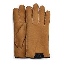 UGG  Shearling Glove Leather Trim