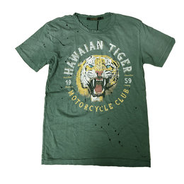 Rude Riders Hawaian Tiger T-Shirt