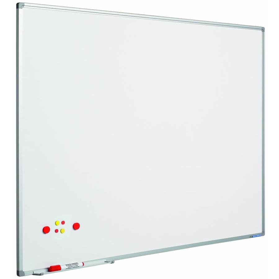 Whiteboard wit gelakt staal Softline-1