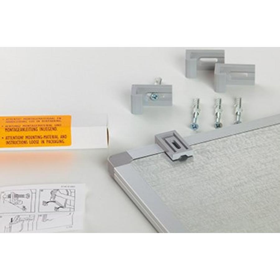 Whiteboard wit gelakt staal Softline-4