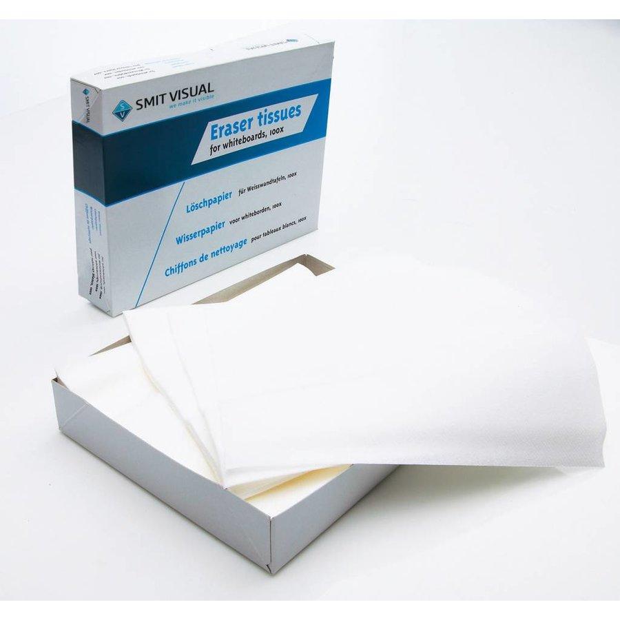 Papieren doekjes voor whiteboardwisser-1