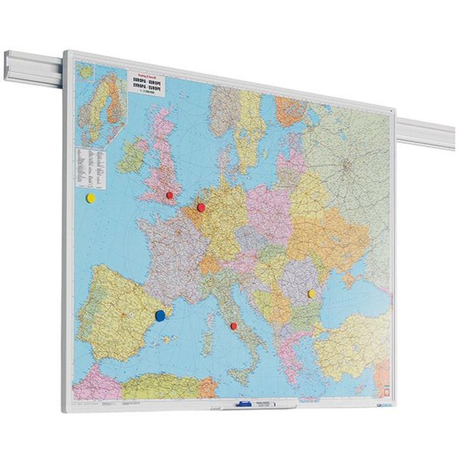 Landkaart Europa PartnerLine profiel-1