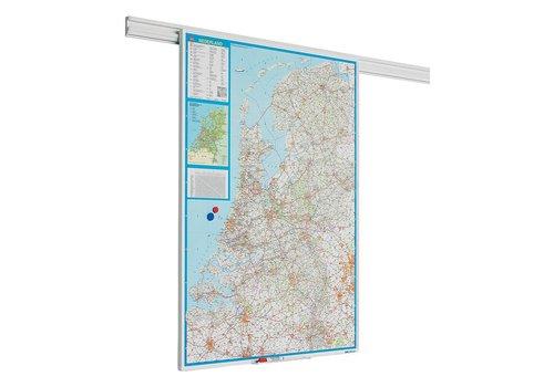 Landkaart Nederland PartnerLine rail