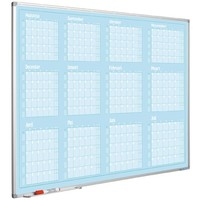 Planbord Jaarplanner januari-december