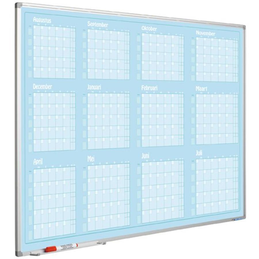 Planbord Jaarplanner januari-december-1