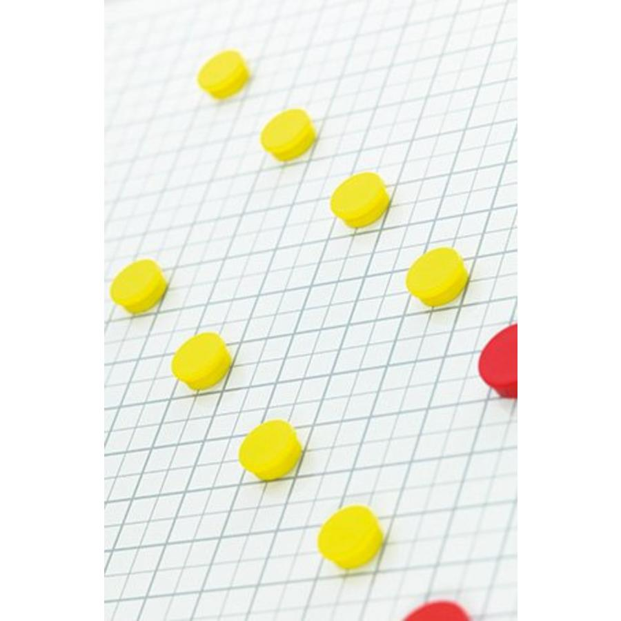 Whiteboard Geruit wit 2 x 2 cm. (1x1)-2