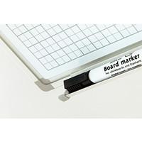 thumb-Whiteboard Geruit wit 2 x 2 cm. (1x1)-3