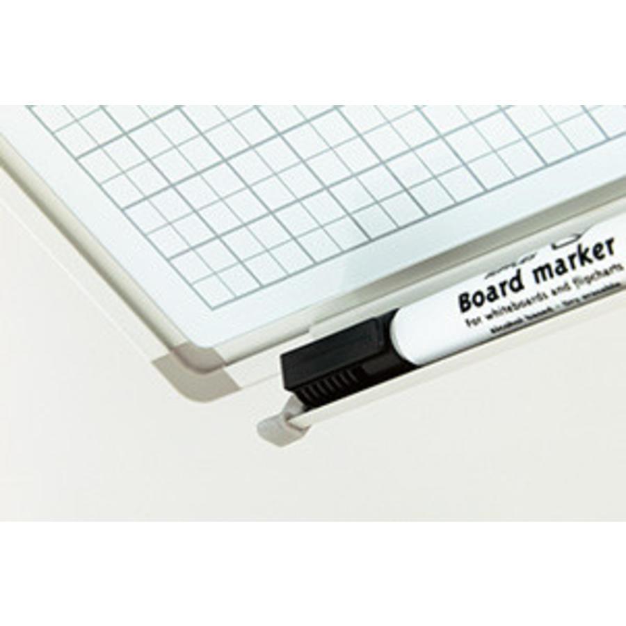 Whiteboard Geruit wit 2 x 2 cm. (1x1)-3