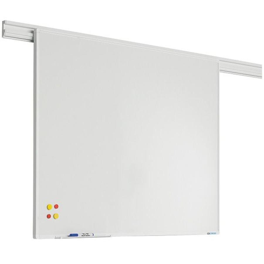 Whiteboard wit emailstaal staal  PartnerLine profiel-1