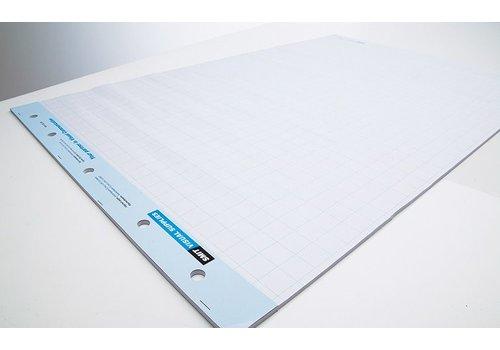 Flipover papier geruit