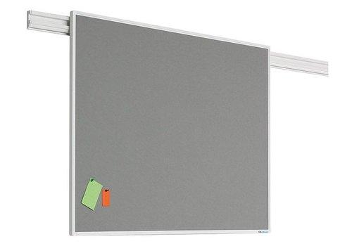 Prikbord donker grijs met PartnerLine profiel