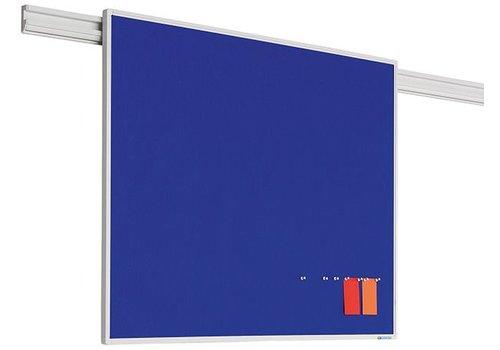 Prikbord  PartnerLine profiel met blauw vilt