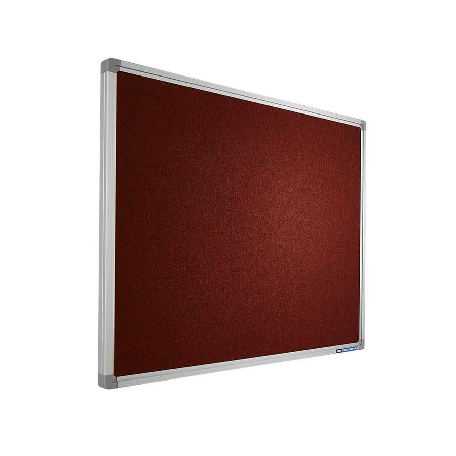 Prikbord Accent Divide oranje-rood-1